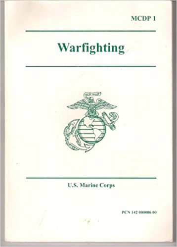 Cover of USMC Warfighting Manual (1997)